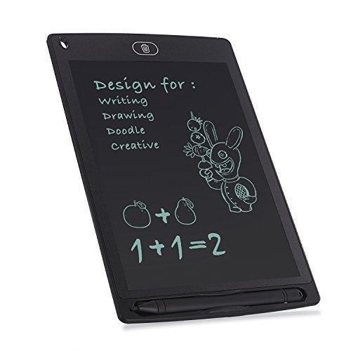 iHomeme LCD Tablet Grafiktabletts schreibtafel lcd Grafik Tablett für schnelles Schreiben Malen Notizen Hause Office Schreiben Zeichnung Schwarz 8.5Inch