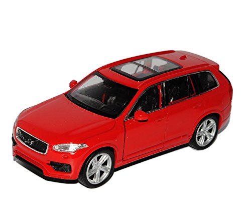 volvo-xc90-suv-rot-2-generation-ab-2015-ca-1-43-1-36-1-46-welly-modell-auto