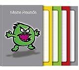 Freundebuch A5 76 Seiten Crazy Animals Monster