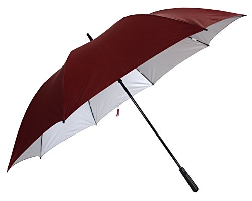 Sun Brand JUMBO size (2 person) Golf Auto Maroon Umbrella