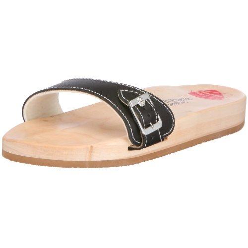 Berkemann Original Sandale, Unisex-Erwachsene Pantoletten, Schwarz (schwarz 900), 42 EU (8 Erwachsene UK)