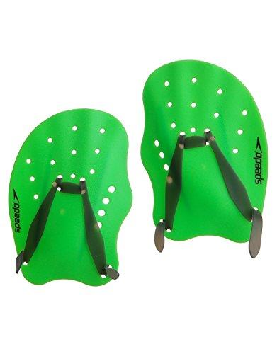 Speedo Tech Paddles - Grün Größe Large