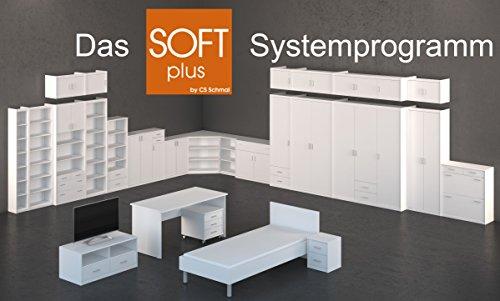 CS Schmalmöbel 10/58 Mehrzweckschrank 58 Soft Plus, 72 x 110 x 36 cm, ahorn - 3