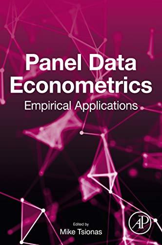 Panel Data Econometrics: Empirical Applications (English Edition) -