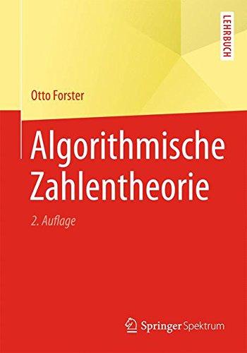 Algorithmische Zahlentheorie