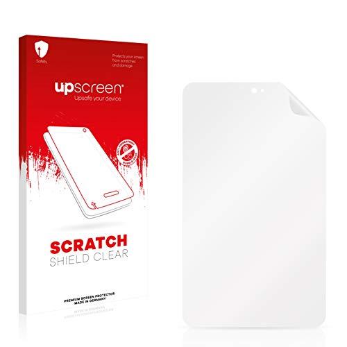 upscreen Scratch Shield Schutzfolie für Kiano SlimTab 8 MS – Kristallklar, Kratzschutz, Anti-Fingerprint