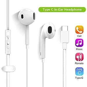 2e0f397e52f Type C Headphones, Lively Life USB Type C Headphone USB C Earphones Stereo  Music Earphone