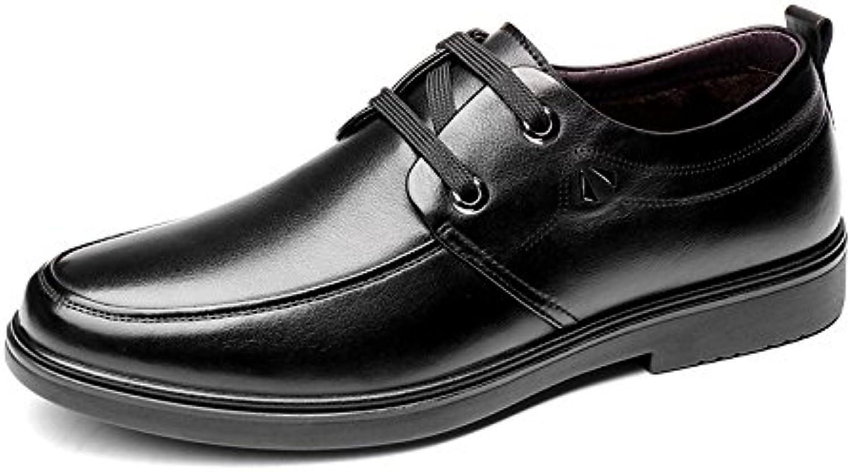 Zapatos de hombre Aemember Invierno, negocio de algodón Casual Zapatos Zapatos de hombre negro ,42, Office.