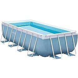 INTEX Kit piscine Prism Frame rectangulaire 4.00 x 2.00 x 1.00 m