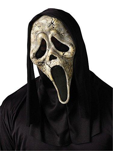 Gruselige Halloween Latexmaske Scream - Ghost Face Zombie - Horror Geist (Ghost Face Zombie)