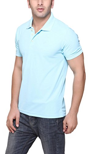 American-Crew-Mens-Polo-Collar-Polyester-T-Shirt
