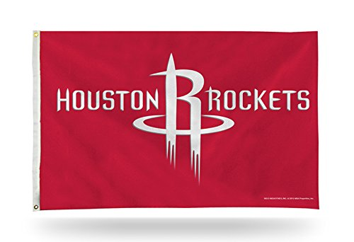 Rico Houston Rockets 3x 5Flagge Tüllen W/Outdoor House Banner Basketball - Heavy-duty-outdoor-banner