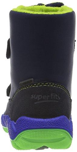 Superfit ICEBIRD 700015, Jungen Schneestiefel, Blau (OCEAN KOMBI 81) Blau (OCEAN KOMBI 81)