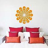jiushizq Fleur Chaude Stickers Muraux Vinyle Stickers Muraux Salon Décor À La...
