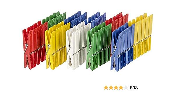Wenko 3710800100 Pinces à Linge Sachet bleu//jaune//vert 1 pièces