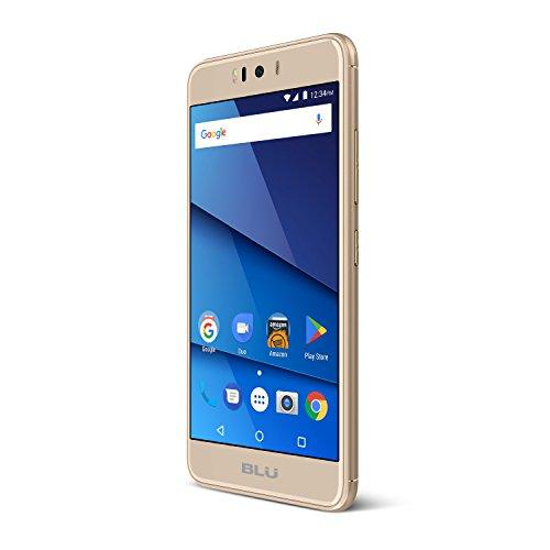 'Blu R2–4G LTE 5.2HD Smartphone–32GB + 3GB RAM–Gold