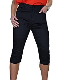 ICE Jeans Femme Capri Cropped Avec Stretch