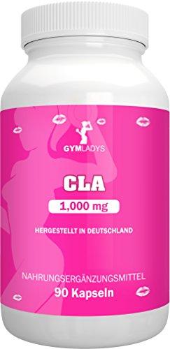 Gymladys | CLA 1.000 mg | Hochdosiert - 90 Kapseln