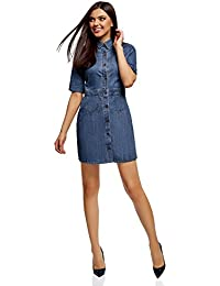 4be031d027cc Amazon.it  vestito jeans - Donna  Abbigliamento
