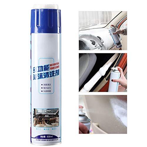 2019 Miglior Agente di Pulizia Interni per Auto, detergente per Interni Auto Multifunzionale Quik Interior Detailer Spray per Pulizia di Cuoio rinfresca e ringiovanis