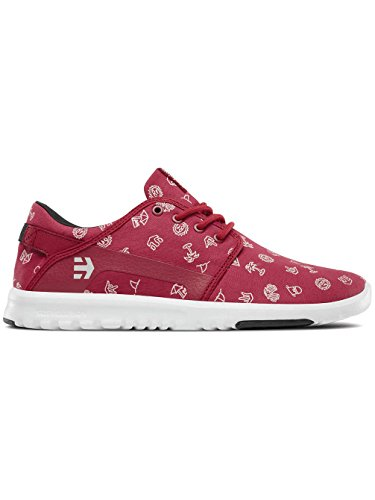 Etnies Scout, Sneakers Basses Homme Red/White