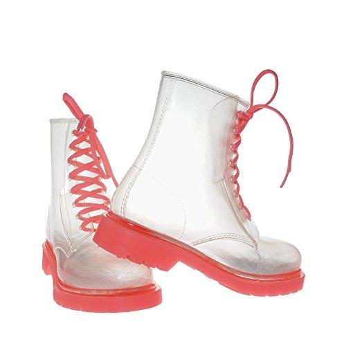 JellyJolly Regen Stiefel Wasserdichte Frauen 40 EU Sohle Pink DD11-78-40