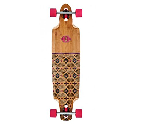 Globe Longboard Spearpoint Red/Bamboo, One size -