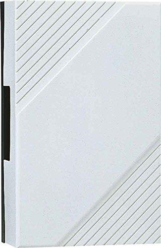 Grothe 1502611 Elektromechanisch Zwei-dauerklang, GONG 169 DKW, weiß