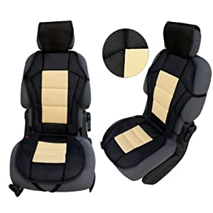 csc202 coussin de si ge voiture housse de si ge auto protecteur de si ge coussin. Black Bedroom Furniture Sets. Home Design Ideas