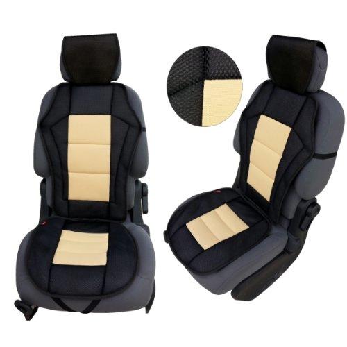 KMH-CSC202 - Sitzauflage Sitzpolster Gelb Schwarz