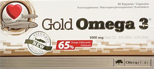 Olimp Omega 3 Gold (65) 60 Kapseln, 1er Pack (1 x netto 75,6 g) (65 Kapseln)