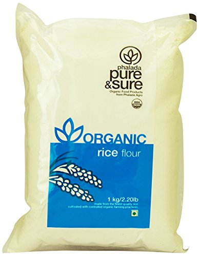 Pure & Sure Organic Rice Flour, 1kg