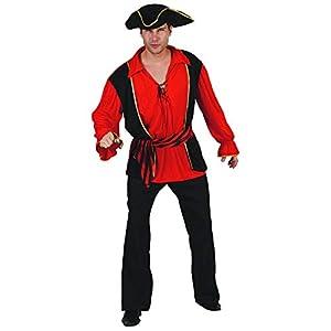 Reír Y Confeti - Ficpir023 - Para adultos traje - Capitán Pirata Traje - Hombre - Talla XL