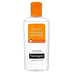 Neutrogena Visibly Clear Blackhead Eliminating Cleansing Lotion 200ml with Ayur Product in Combo