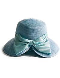 Sombrero de paja Sombrero de sol de ala grande Sombrero de paja grande para  mujer Sombrero de ala ancha Sombrero de playa 50+ UPF… 7a408750e09