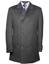 3a1da51df834d Suit City - Abrigo - Gabán - Manga Larga - para Hombre