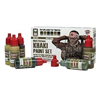 ACS 14 Khaki Paint Set