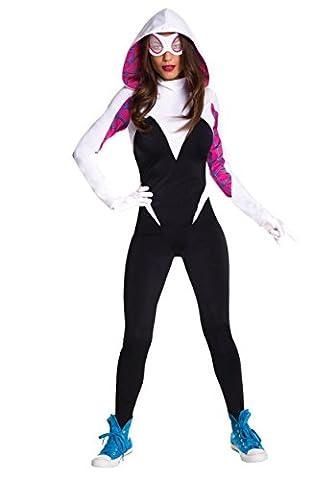 Spider Man Gwen Costume - Secret Wishes Spider Gwen Adult Costume