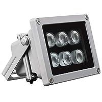 Univivi U06R WideAngle 6pcs LED Array Lights IR Illuminator for Security Cameras