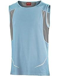 Spiro T-shirt de sport sans manches pour homme cffbc3ce1aba
