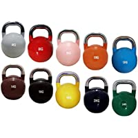 Body Revolution Competition Kettlebells – Competition Standard Kettlebell Colours Single or Full Set - 4kg 6kg 8kg 10kg 12kg 14kg 16kg 18kg 20kg 24kg