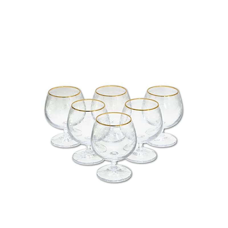 6 Cognacglser Aus Kristallglas Cognac Glas Brandyglas Brandy Glser Cognacschwenker