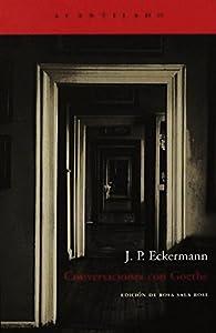 Conversaciones con Goethe par J.P. Eckermann