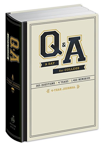 Q&A a Day for College: 4-Year Journal por Potter Gift