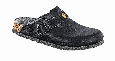 BIRKENSTOCK Damenschuhe 61368 Boston ESD Damen Clogs, Pantoletten, Sandalen Schwarz (Black), EU 37 (Antik Boston Clogs)