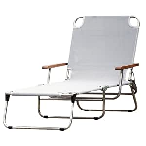 Fiam Jan Kurtz Amigo 495267 Chaise Longue Pliante