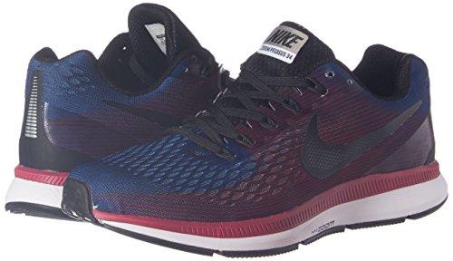 63723d4c6d Nike Men s Air Zoom Pegasus 34 Blue Running Shoes - 8.5 UK India (43 ...