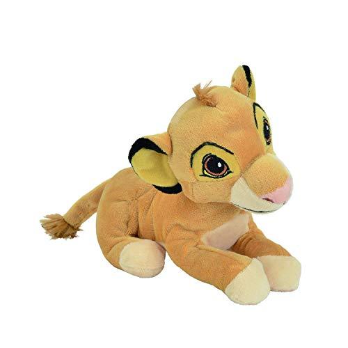 SIMBA Plüsch von Der König der Löwen 20cm DISNEY serie ANIMAL FRIENDS - Original mit Hologramm (Der Löwen König)