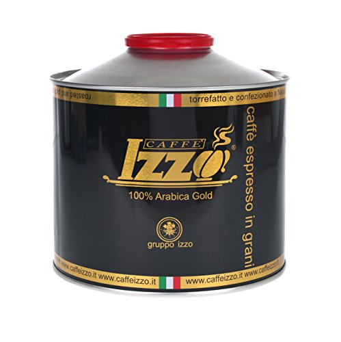 Izzo Caffé Izzo Espresso 100% Arabica Bohnen, 1er Pack (1 x 1 kg)