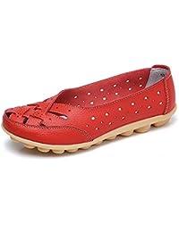 Gaatpot Mocasines para Mujer Respirable Ligero, cómodo y Antideslizante Moda Loafers Casual Zapatillas Verano…